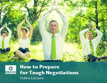 How to Prepare for Tough Negotiations